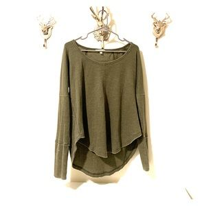 Lucky Brand Green Thermal | Medium